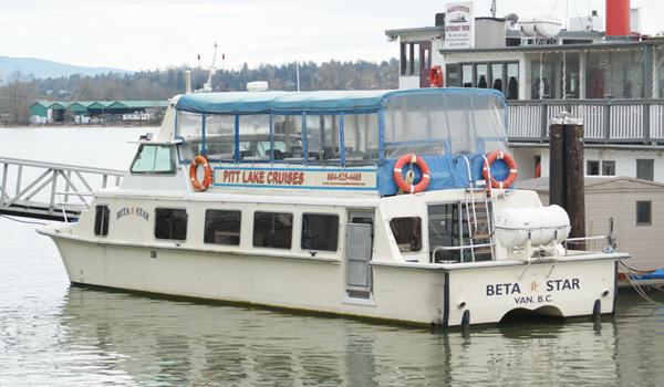 M.V. Beta Star - 40 Passenger Catamaran - Vancouver Paddlewheeler Tours