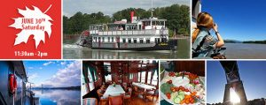 Discover the Fraser Lunch Cruise - Canada Day Weekend