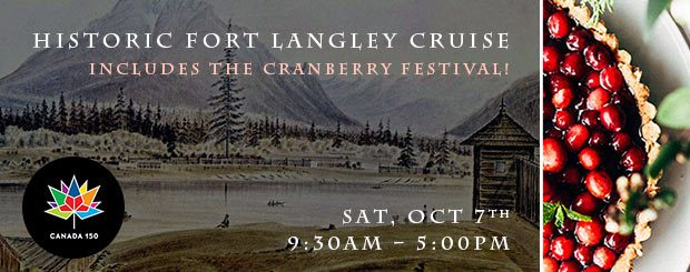 SAT, OCT 7 – Ft Langley + the Cranberry Fest!
