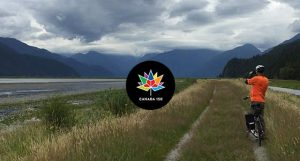 Pitt Lake Boat and Bike Tour - Vancouver Paddlewheeler - Canada 150