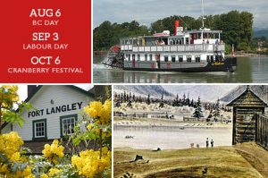 Historic Fort Langley Cruise Tour + Cruise - Vancouver Paddlewheeler Riverboat Tours