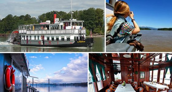 Discover the Fraser Lunch Cruise - Wed, Sat - Vancouver Paddlewheeler, New West, BC