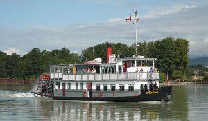 M.V. Native - 100 Passenger Paddlewheeler - Vancouver Paddlewheeler Cruises