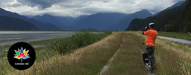 Pitt Meadows Boat and Bike Tour - Vancouver Paddlewheeler - Canada 150