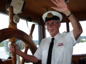Vancouver Paddlewheeler Riverboat Tours Captain