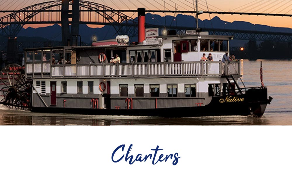 Private Charters, Parties and Events on the Paddlewheeler