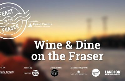 Setember 30th, 2017 - Wine & Dine - Feast on the Fraser Cruise - Paddlewheeler Riverboat Cruises