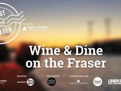 Setember 30th, 2017 - Wine & Dine - Feast on the Fraser Cruise - Paddlewheeler Riverboat Cruises