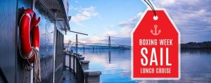 "Boxing Week ""Sail"" Sale Lunch Cruise Paddlewheeler Vancouver"