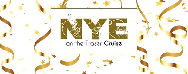 New Year's Eve on the Fraser - Paddlewheeler, Vancouver, New Westminster