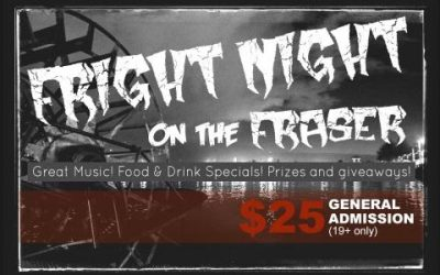Fright Nights on the Fraser - Halloween - Vancouver Paddlewheeler