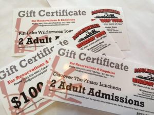 Vancouver Paddlewheeler Gift Certificates - Christmas, Holidays, Birthdays - gift ideas