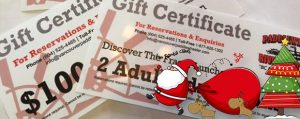 Gift Certificates - Tours and Cruises - Vancouver Paddlewheeler Riverboat Tours