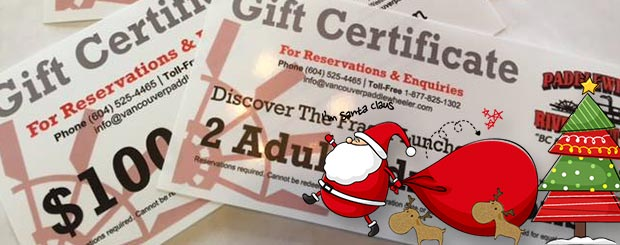Gift Certificates - Vancouver Paddlewheeler