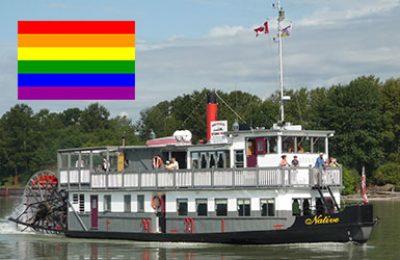 Pride Week Cruise in New Westminster, 2018