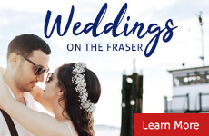 Weddings on the Fraser - Vancouver Paddlewheeler