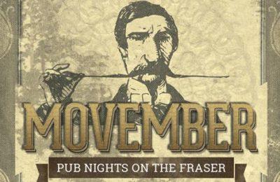 Movember Pub Nights on the Fraser - Vancouver Paddlewheeler