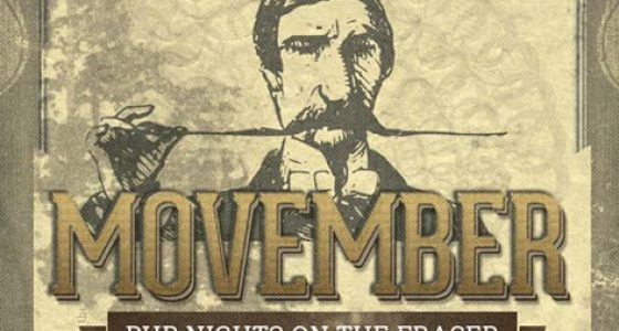 Movember Pub Nights on the Fraser - Vancouver Paddlewheeler