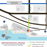 Location Map - Vancouver Paddlewheeler, New Westminster - Office, Boats, Skytrain, Parking