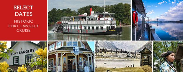 Historic Fort Langley, BC Paddlewheeler Cruise