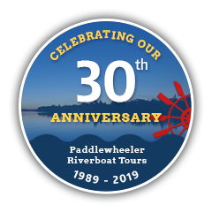 Paddlewheeler Riverboat Tours ~ Celebrating 30 Years! ~ 1989-2019