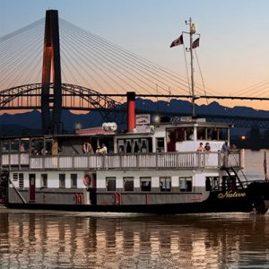 Charter the Paddlewheeler, M.V. Native - Vancouver Paddlewheeler